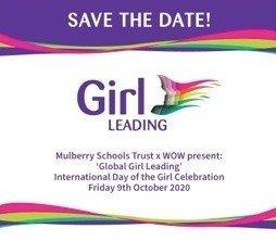 Cropped Global Girl Leading